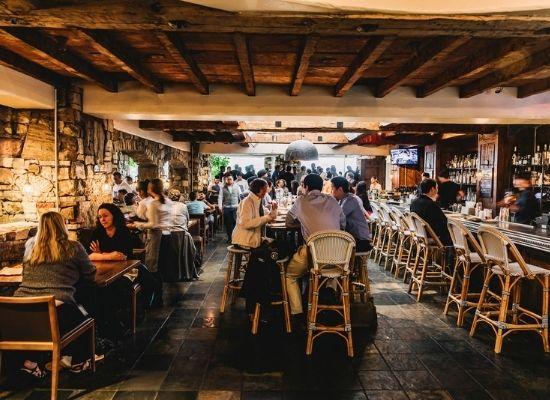 Sens Restaurant, San Francisco, pre-covid times - a busy affair
