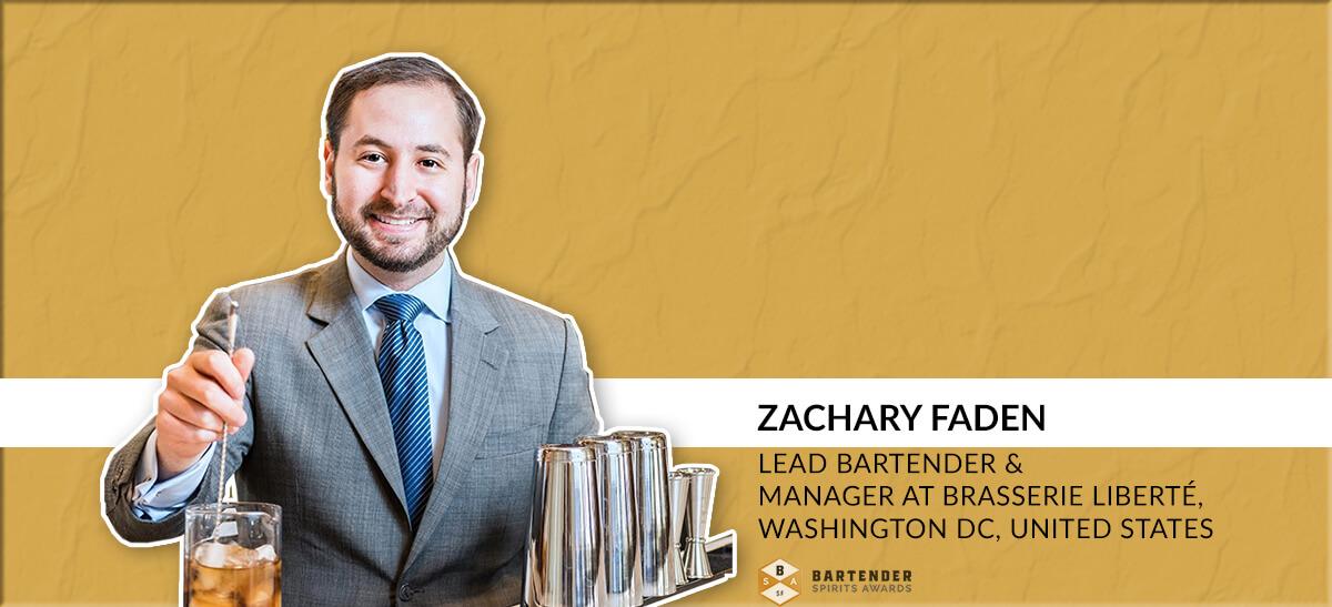 Photo for: Zachary Faden Joins Bartender Spirits Awards Judging Panel