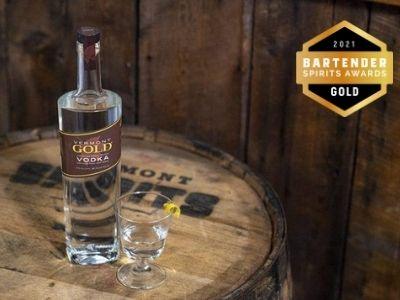Vermont gold vodka