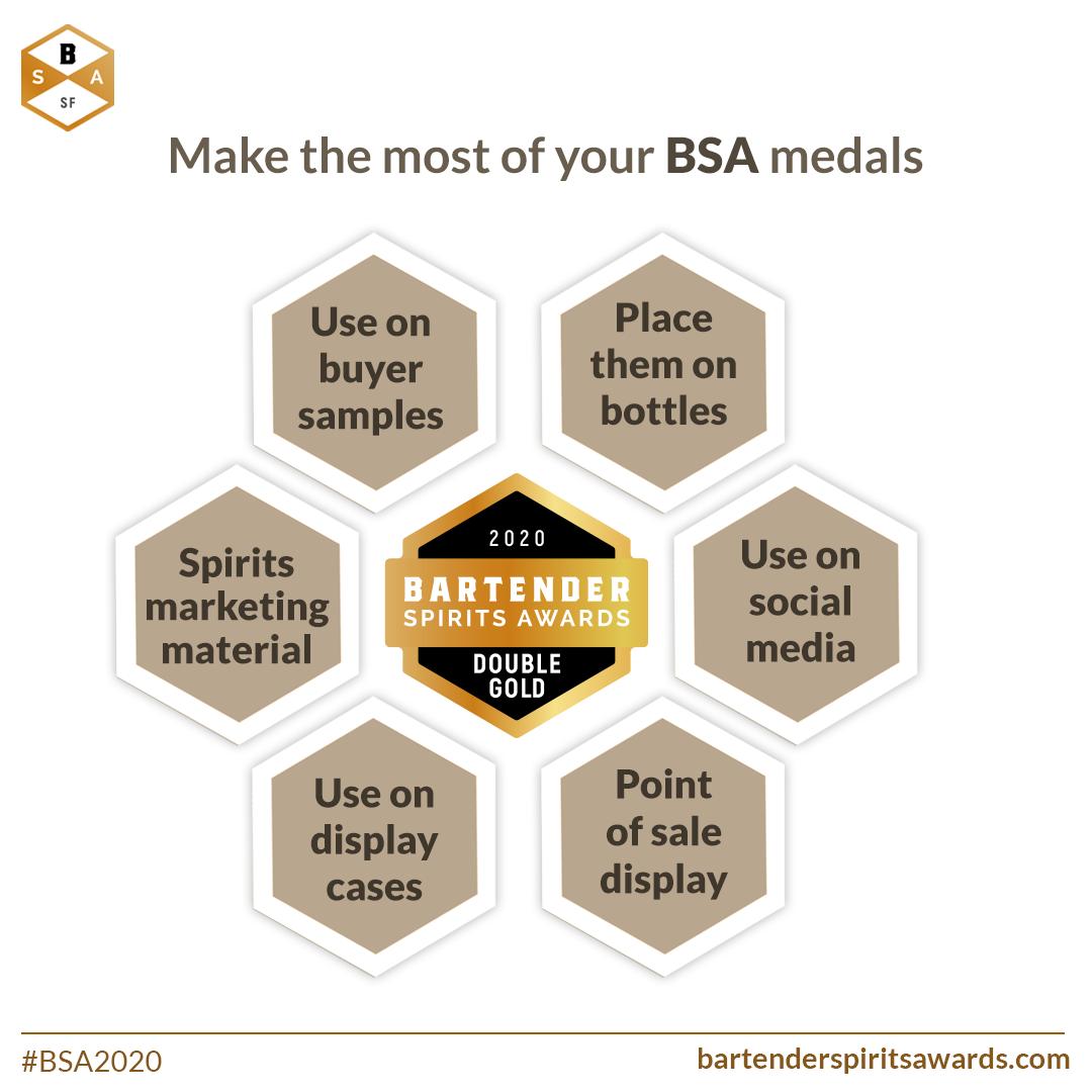 BSA double gold medal
