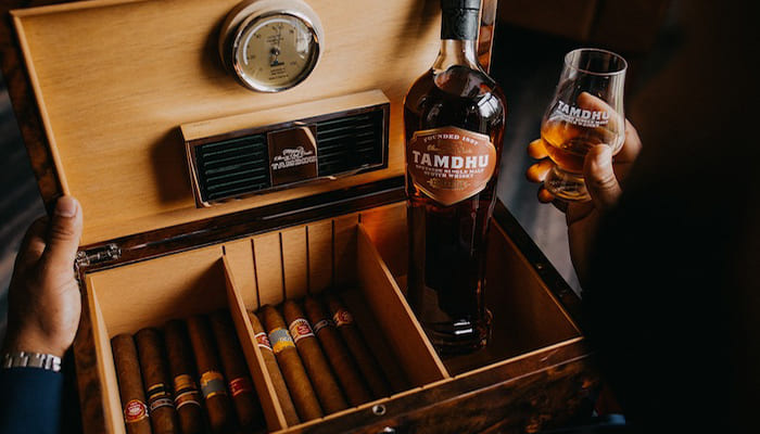 Tamdhu Cigar Malt Limited Edition Humidor