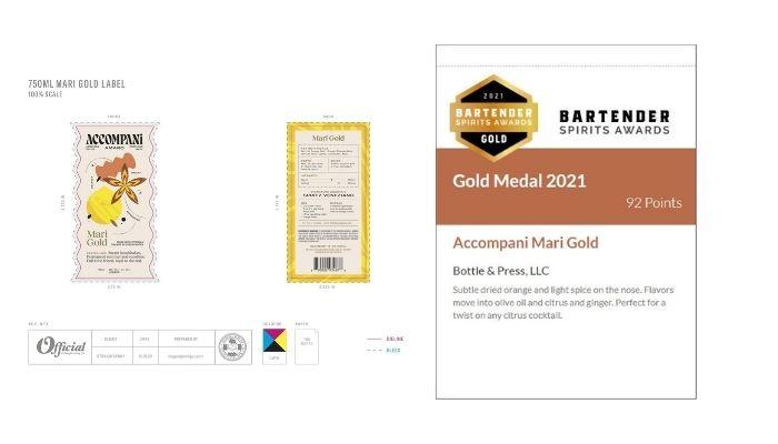 Accompani Mari Gold Tasting Notes