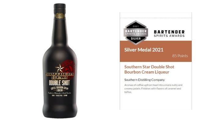 Southern Star Double Shot Bourbon Cream Liqueur