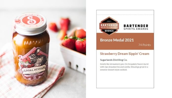 Strawberry Dream Sippin' Cream Tasting Notes
