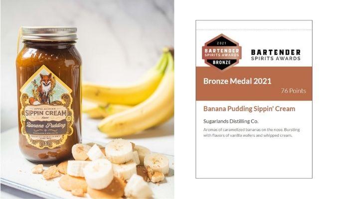 Banana Pudding Sippin' Cream Tasting Notes