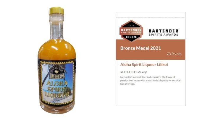 Aloha Spirit Liqueur Lilikoi Tasting Notes