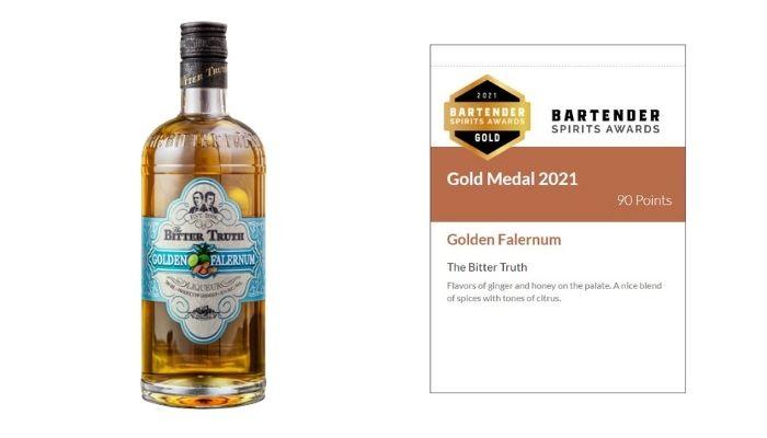 Golden Falernum Tasting Notes